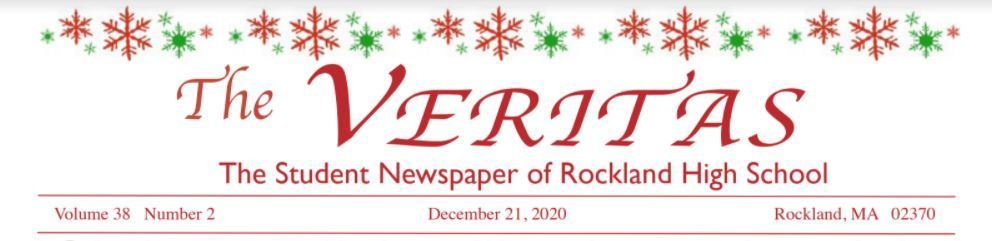 The December 2020 Issue of the Veritas is now available!
