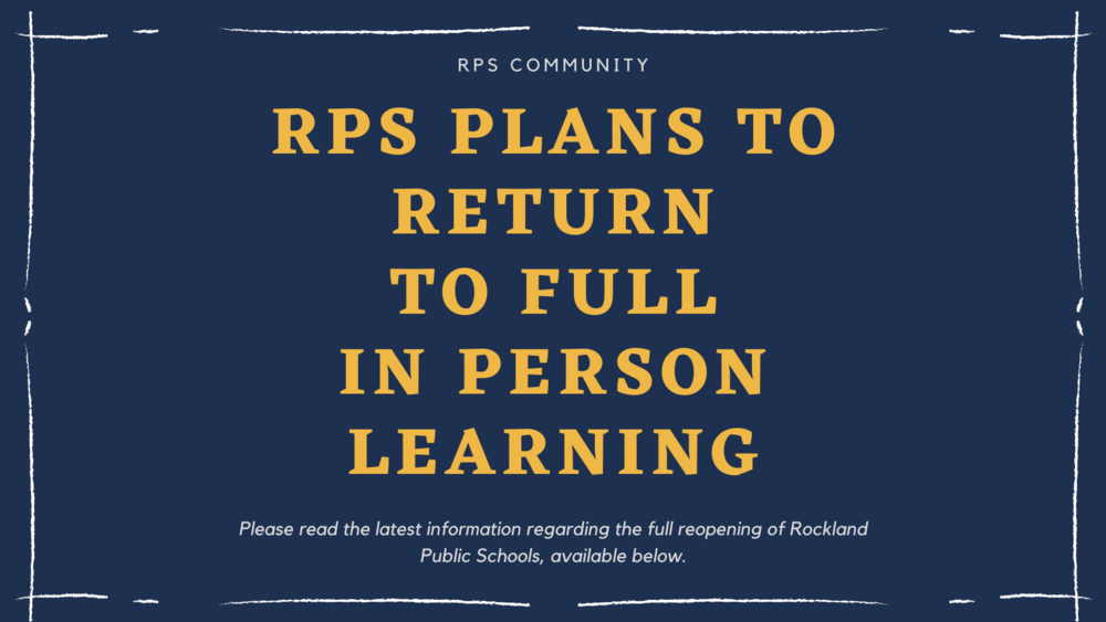 RPS Reopening Planning