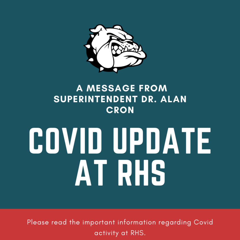 Update on Covid activity at RHS