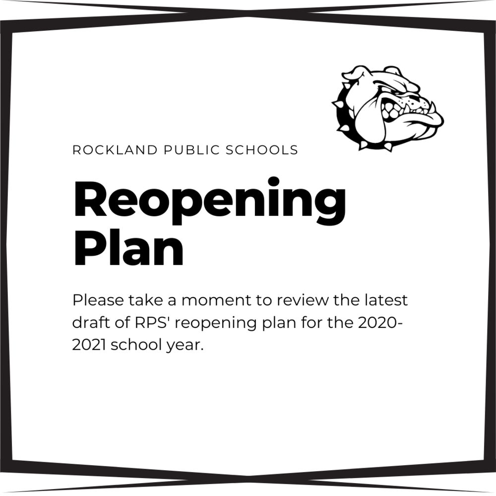 RPS Reopening Plan: August 5, 2020