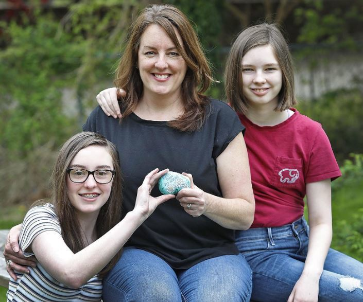 Rockland rocks: Family spreads cheer with colorful Kindness rocks