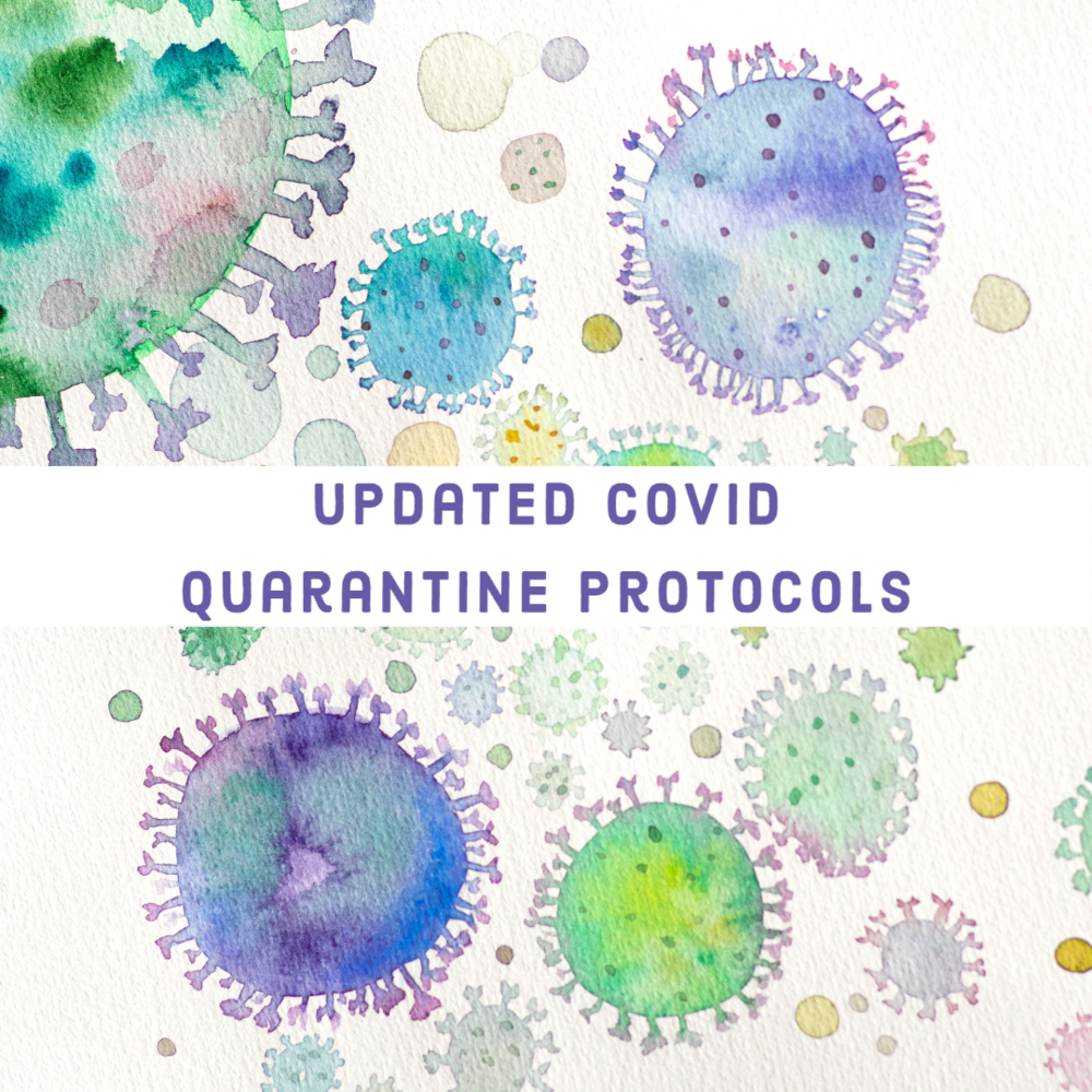 Updated Covid Quarantine Protocols