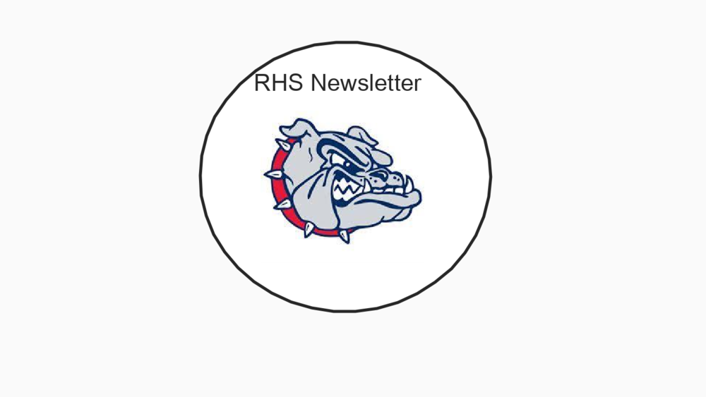 RHS September Newsletter