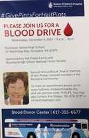 2nd Annual Blood Drive in honor of Ann Phelps