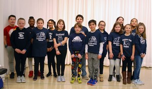 Memorial Park Elementary School fourth grade student leaders worked to make Feb. 14 Rockland Kindness Day