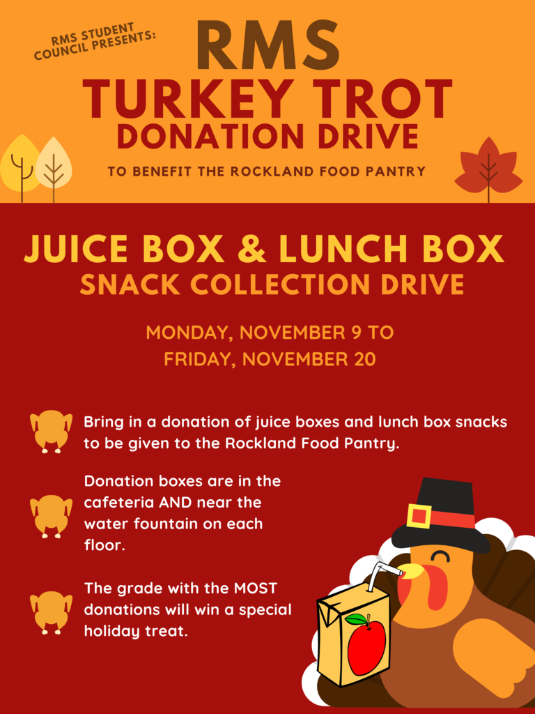 Turkey Trot Donation Drive
