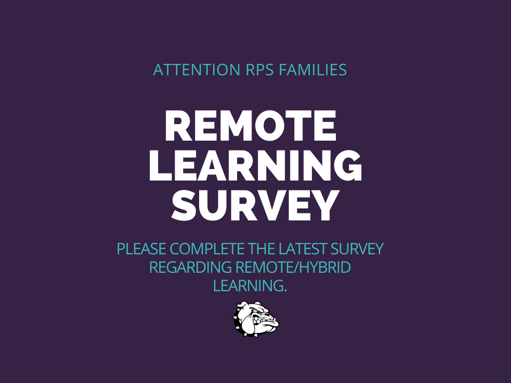 Remote Learning Survey 12/14/2020
