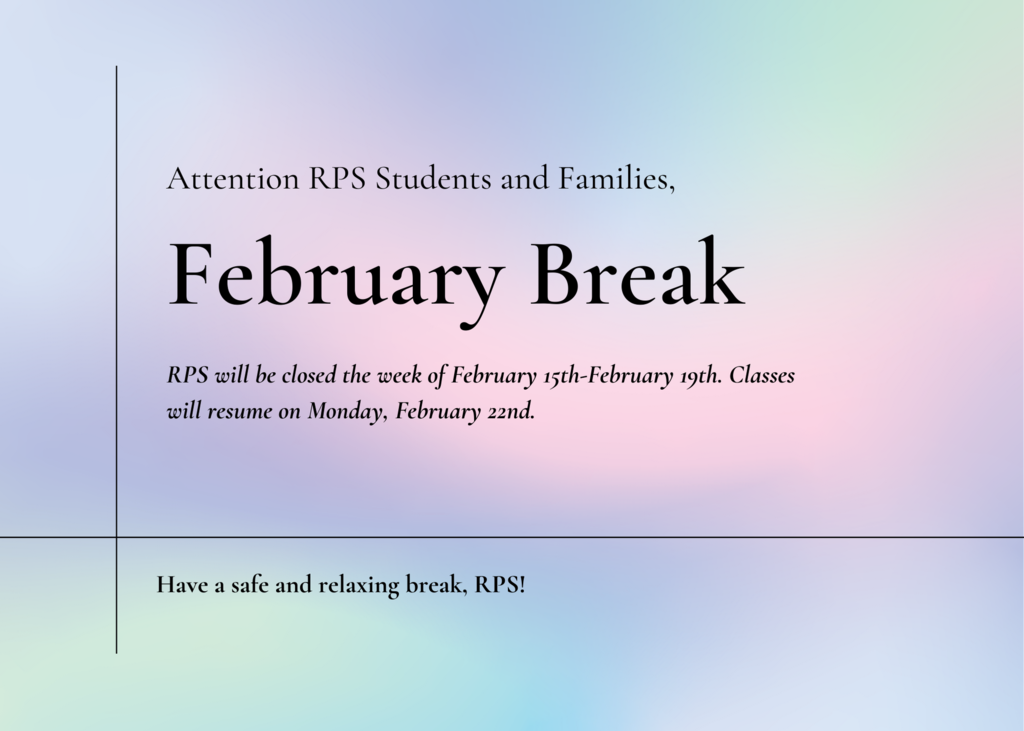 Feb Break 2021
