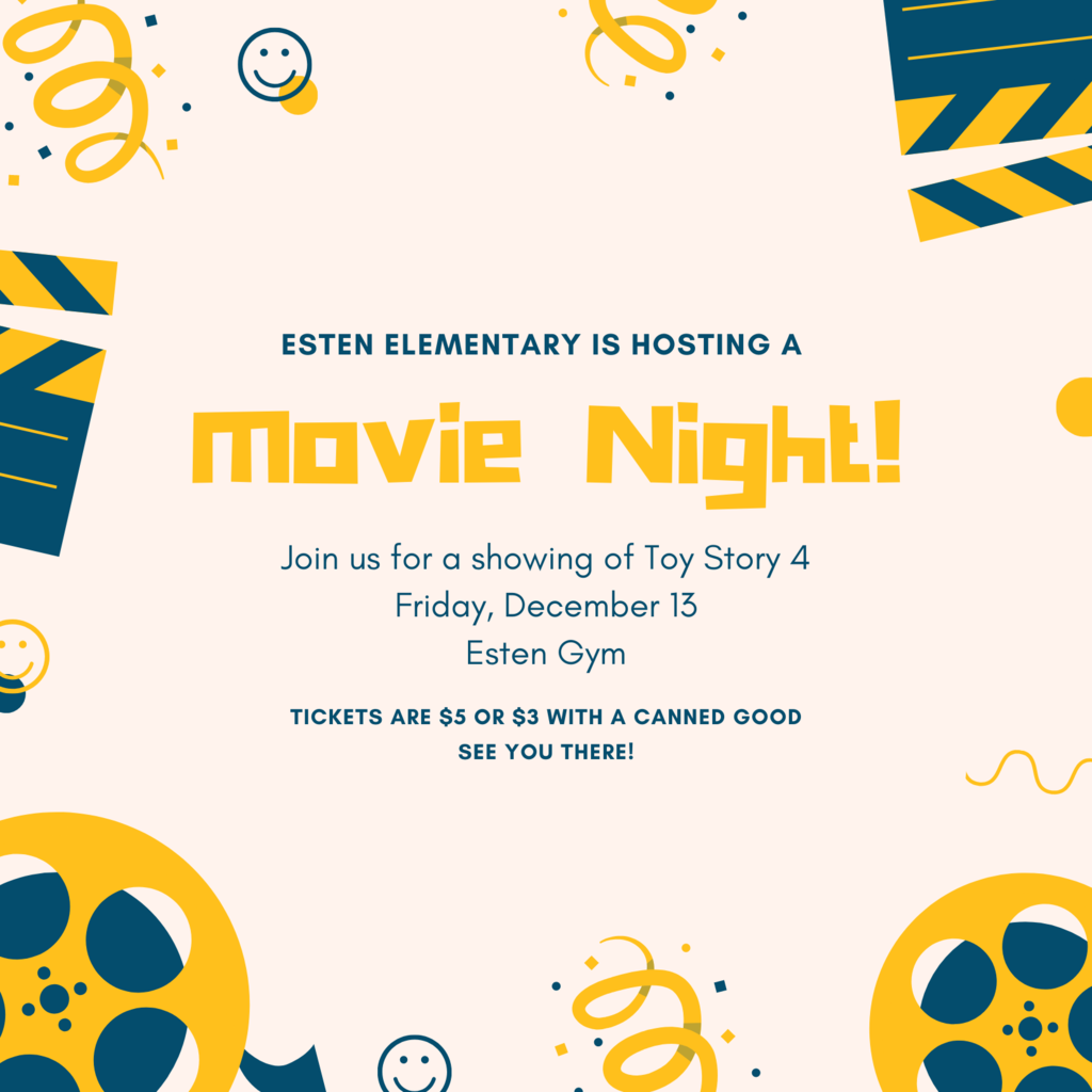 Friday, December 13th: Toy Story 4 at Esten!
