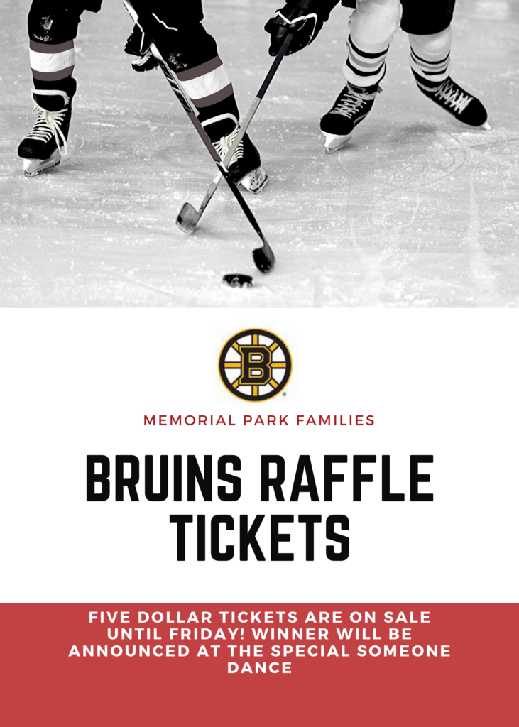 Bruins Raffle Tickets