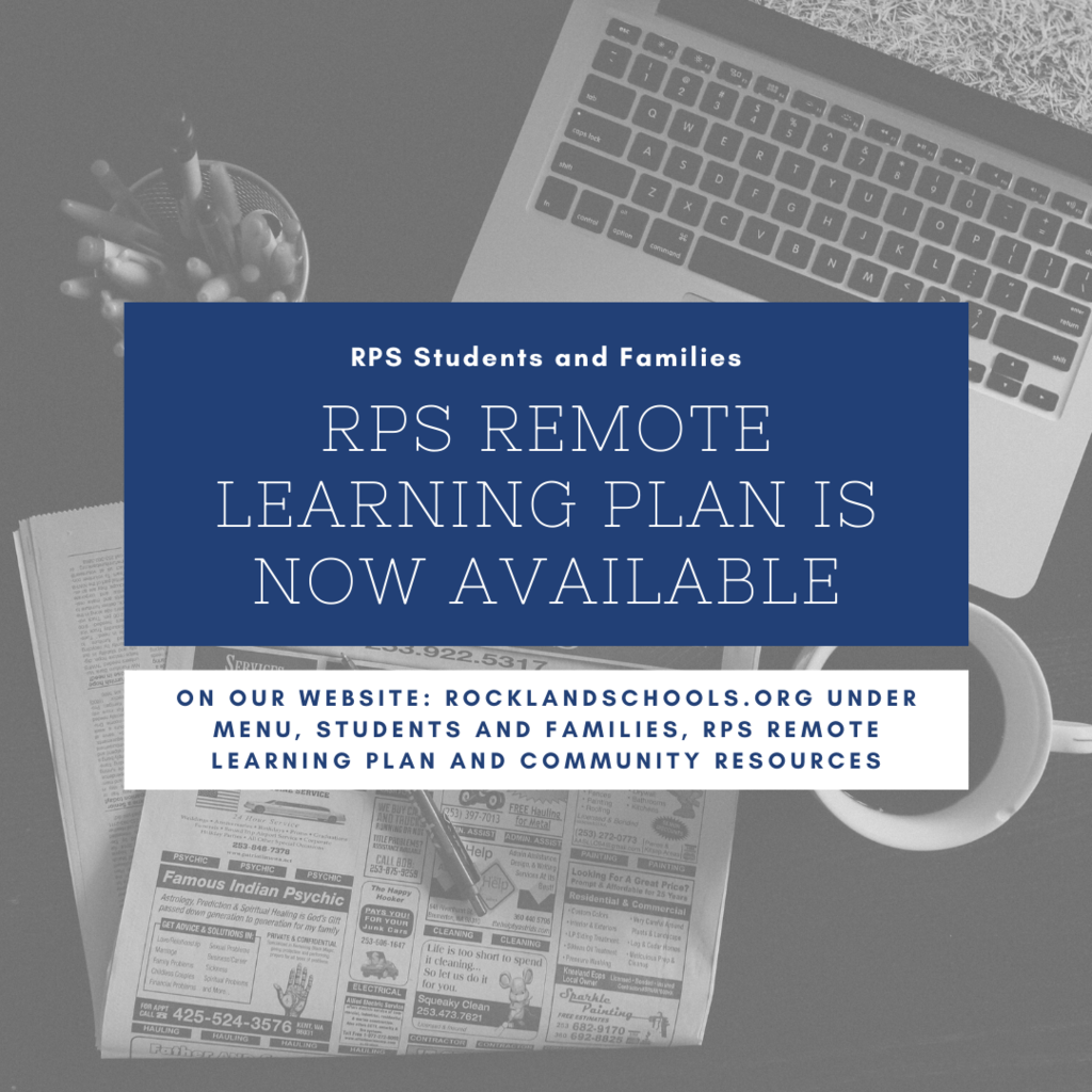 RPS Remote Learning Plan